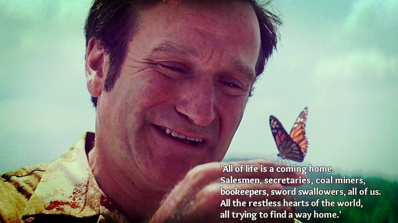 the passing of Robin Williams was one of the sad moments of last year - but it is such a joy to have experienced laughter and tears thanks to him